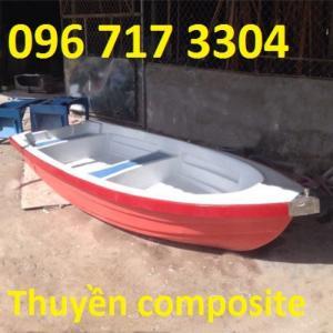 Thuyền du lịch composite 5m x 1,3m x 0,5m  chở 8 – 10 người