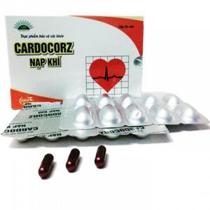 Cardocorz Nạp Khí điều trị suy tim, hẹp, hở van tim