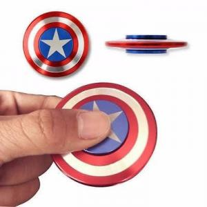 Combo Con quay Spinner Captain America & Spinner Iron Man Kim Loại Cao Cấp Cực Đẹp