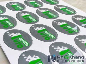 Sản xuất sticker decal, sticker hít tủ lanhj