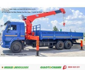 Xe tải cẩu 65117 (6x4) gắn cẩu 5t , 7t ,8t...