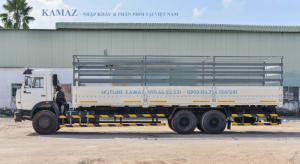 Xe tải thùng 53229 (6x4) thùng 9,3m màu xanh...