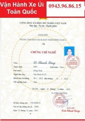 Học nhanh vận hành Máy Ủi tại Nghệ An
