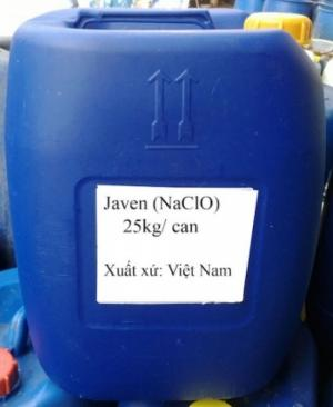 Javen NaClO 7-9%,30kg/can-250kg/phuy