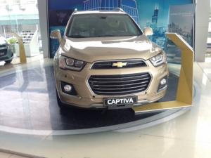 Bán xe Captiva 2017 màu đồng độc nhất vô nhị