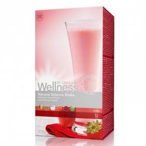 Thực phẩm dinh dưỡng vị dâu Natural Balance Shake Strawbery 15447 Wellness của Oriflame