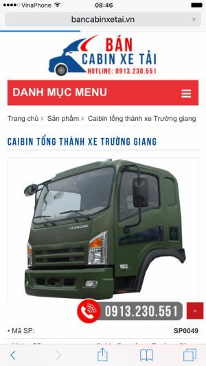 Chuyên bán phụ kiện xe tải - cabin xe...