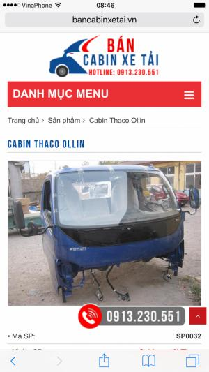 Bạn cần Cabin cho xe tải? Hãy liên hệ...