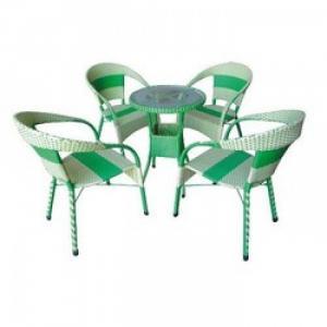 Bàn ghế mây dành cho quán cà phê giá rẻ
