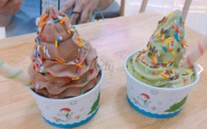 cốc giấy 160ml đựng kem