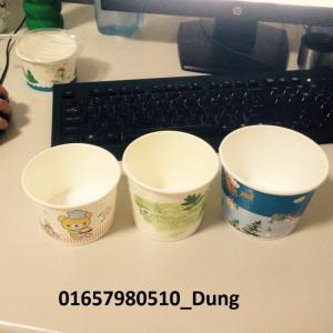 3 dung tích đựng dùng để dựng kem, chè,...