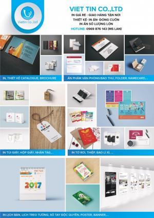 In ấn hộp giấy, túi giấy và các sản phẩm khác