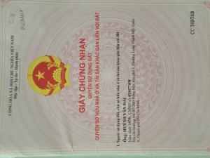 Bán đất dt 50m2 Võ Văn Hát 1,150 tỷ