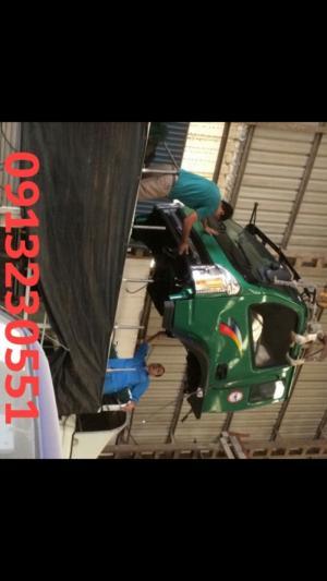 Dịch vụ cung cấp các loại thân vỏ cabin xe...