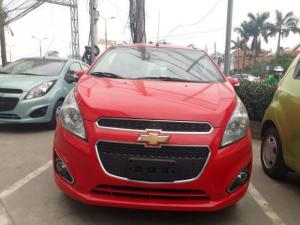 Chevrolet Spark 1.2L 2017 màu đỏ, 5 chỗ chuyên uber, grab,taxi