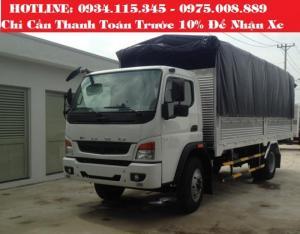 gia xe tai mitsu 7tan2,Xe tải Fuso 7.2 tấn/ Xe tải Mitsu Fuso Fi ( 7 tấn 2) Mitsu 7 tấn 2 trả góp.