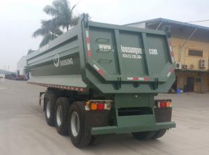 Bán Sơ mi rơ moóc Ben Xilanh Hiva FC thùng tải tự đổ,  tải trọng 28 tấn (3 trục)