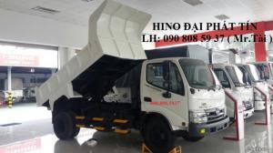 Xe ben 3,7 khối tải 4.5 tấn hiệu HINO WU342L-NKMTJD3 giá 640