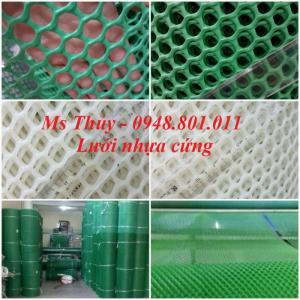 Lưới nhựa cứng chăn nuôi gà vịt, lót sàn vật nuôi rất bền
