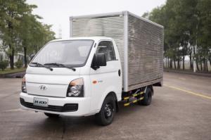 Xe tải Hyundai Porter H100 động cơ dầu Diesel 2.6 L