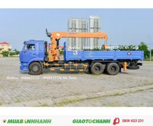 Xe tải cẩu 65117 (6x4) cẩu DINEX (hàn quốc) 7 TẤN