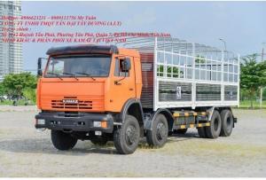 Xe tải thùng 6540 (8x4) trọng tải 30t