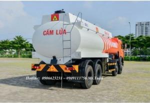 Xe bồn xăng dầu 6540 (8x4) 23m3