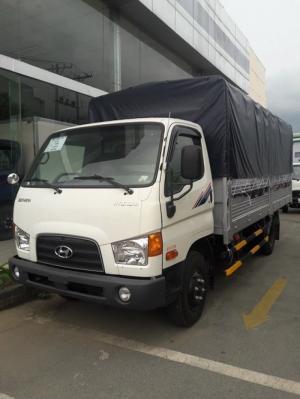Xe tải hyundai HD99 thùng mui bạt - giá xe hyundai HD99 rẻ nhất - mua xe hyundai HD99 trả góp