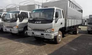 Xe tải JAC 4 tan 9 công nghệ ISUzu