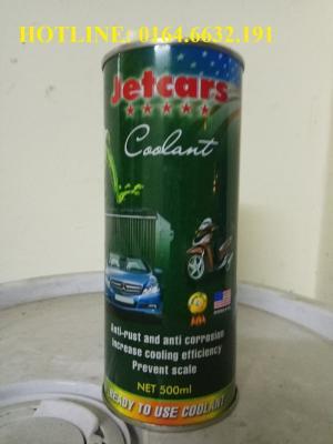 Nước làm mát động cơ Jetcar xanh lon 500ml