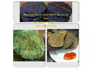 Bánh đa vừng đen