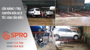 Tư vấn lắp đặt cầu nâng 1 trụ rửa xe ô tô...