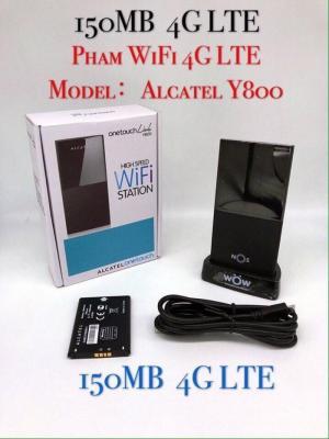 Bộ Phát Wifi 3G/4G LTE Alcatel OneTouch Link Y800 Kèm Dock Sạc Pro