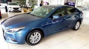 Mazda 3 - 2017 màu mới. Ưu đãi 10tr (áp dụng trong tháng 7). Sở hữu ngay chỉ với 210 triệu. Có xe giao ngay.