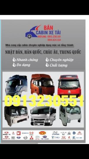 Bán cabin xe tải, xe ben Trường Giang dong...