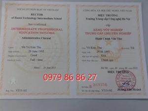 Học trung cấp văn thư lưu trữ tại Hà Nội