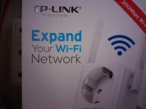 Khuếch đại sóng WIFI TP-Link TL-WA860RE,chuẩn N 300M,mới 100%