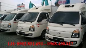 Bán xe tải hyundai porter thùng đông lạnh 1 tấn đời 2012 nhập khẩu nguyên chiếc giao ngay