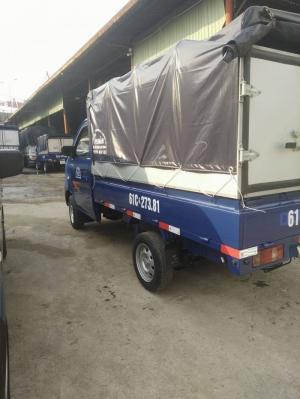 Xe tải Dongben 810kg thùng bạt. Xe đời 2017. Xe mới 100%. Trả góp