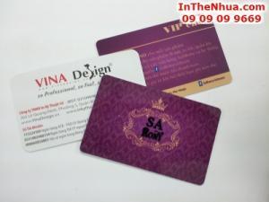 Đặt in thẻ nhựa khách hàng - cách trực tiếp nhất thể hiện sự quan tâm đến khách hàng của mình