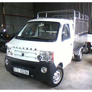 Xe tải dongben thùng bạt 810 kg (db1021/km.02)