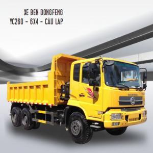 Xe ben dongfeng hoàng huy 13.4 tấn động cơ yc260