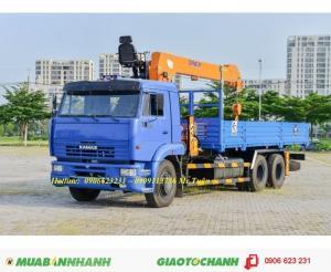 Xe tải cẩu 6517(6x4) CẨU DINEX 7 tấn