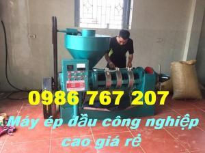 Chuyên lắp đặt máy ép dầu công nghiệp YZYX10J-2WK giá rẻ tại Nghệ An, Hà Tĩnh