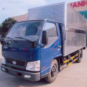 Xe tải đô thành máy isuzu 2 tấn 2 thùng kín...