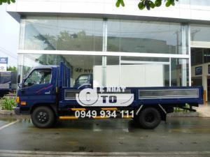 Xe tải hyundai hd99 thùng kín 6,5 tấn