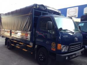 Xe tải hyundai 1.85 tấn thùng bạt hạ tải (hd65-ckd)