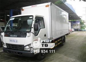 Xe tải isuzu 2.9 tấn nâng tải thùng dài...