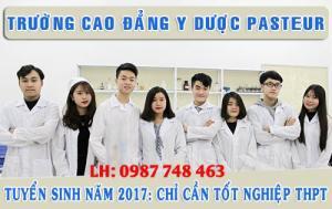 Ngành y dược, ngành xét nghiệm tuyển sinh bằng học bạ thpt, cấp 3 (2017)