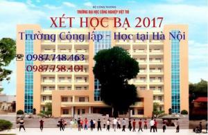Nhanh Chóng Nộp Hồ Sơ Xét Ngay Để Học TrườNg ĐạI Học Công Nghiệp Việt Trì Tại Hà Nội Năm 2017